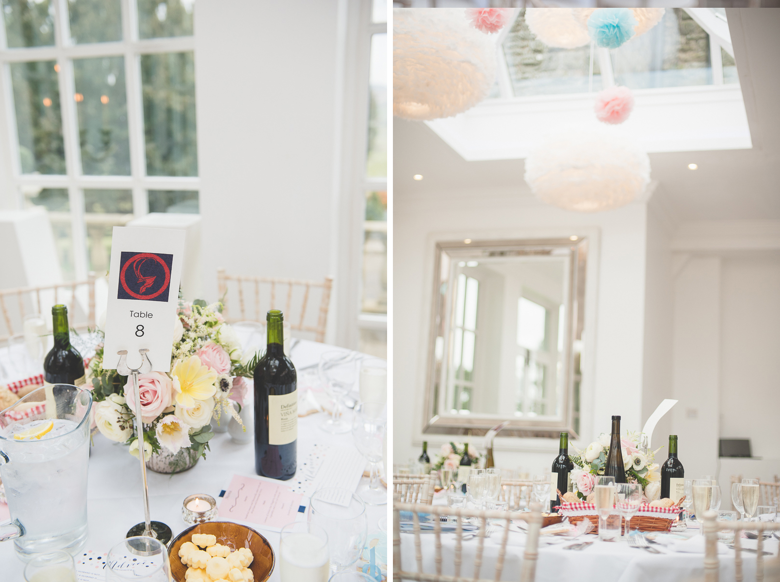 Wedding Room Decorations North East : Wedding photographer woodhill hall kate phil north