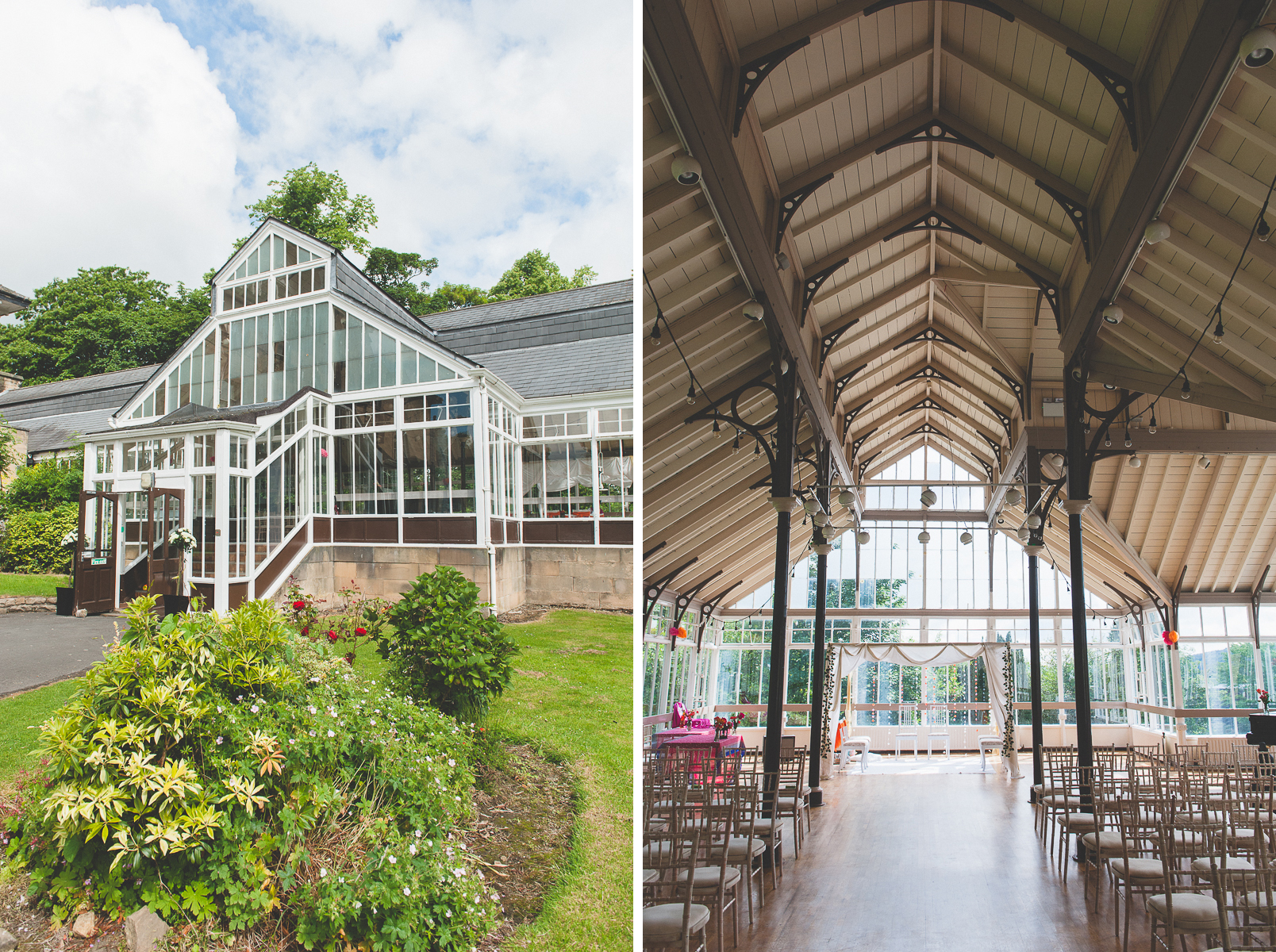 hexham winter gardens north east wedding photographer from the